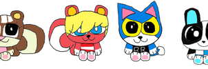 Animal Crossing Cuteness by Completeoutrage