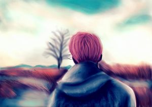 Spring day painting by Nina55555
