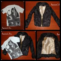 T-Shirt and Jacket for SD BJD by AnastasiasArts