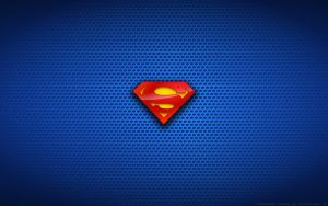 Wallpaper - Classic Superman Logo by Kalangozilla