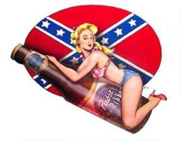 pabst pin up by rotnhell