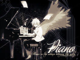 [Wallpaper #6] Piano by sandrareina
