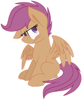 Discorded Scootaloo by LeKraZytacos