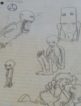 SCP-096 doodless by That--Weirdo