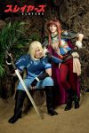 Slayers manga - Lina and Gourry by GreatQueenLina
