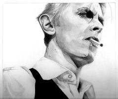 David Bowie, Thin White Duke by MissGeorgeSpiggott