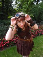 Steampunk Goggles by LindyvdBosch