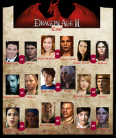 Dragon Age 2 - Actors by PetiteLilen