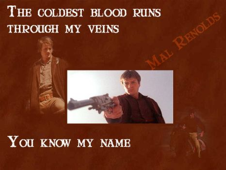 Coldest Blood (firefly) by meridianrose