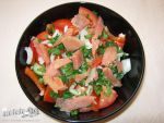 Smoked salmon salad by DanutzaP