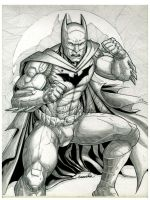 Batman :lineart: by emmshin