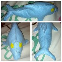 Haru Dolphin Plush [Completed] by sakurablossom143