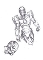 Picture a day 57: More Godkiller Iron Man practice by ConstantM0tion