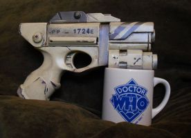 Doctor Who-River Song Pistol-Alpha Meson by anarchysquared