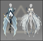 (CLOED) Adoptable Outfit Auction 55-56 by Risoluce