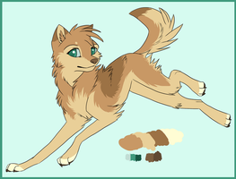 Design for Mystic-Ookami by LilGreenTraveler