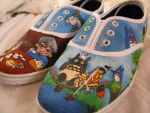 Ghibli Shoes by greeniepi