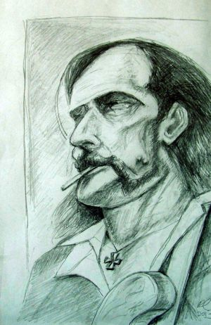 Lemmy from Motorhead (RIP) by philippeL