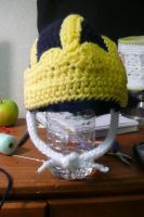 Michigan baby hat by voodoomaggie