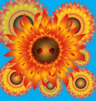 Sunflower Smile by LilithDarck