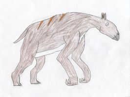 Pony Prehistory: Chalicotherium by Wesdaaman