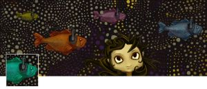Fishy Facebook Cover by Calcination