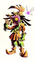 Skull Kid color pens by YeraldReloaded