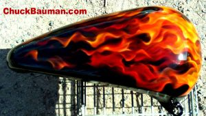 True Fire Motorcycle Gas Tank by crb1177