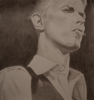 David Bowie by DeppartisticHouse