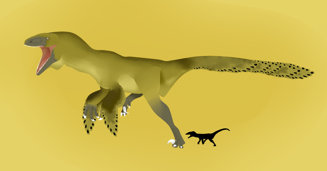 Dakotaraptor Adult by The---Other---One