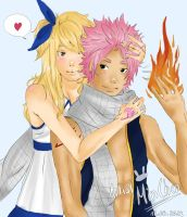 NaLu: Keep me warm by ArtistMinChen