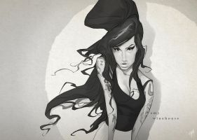 Amy Winehouse by engkit