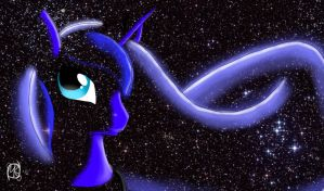 Luna - Among the Stars by EpicPaladin