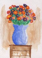 A flower vase by Lozfoai