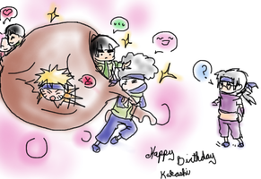 HAPPY BIRTHDAY KAKASHI by soltian