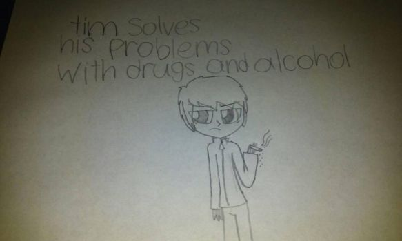 steven sloves his problems with drugs and alcohol  by misskittykat345