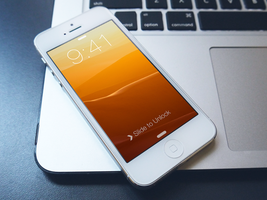 iPhone iOS 7 - 8 Custom Wallpaper by ndenlinger