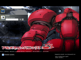 Full Metal Panic Login Theme 5 by laserguidedfilms