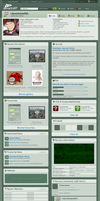 dA v6 Userpage Design by davecheesefish