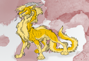 Devin : wolf Dragon by Dunkin-Prime