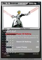 Xemnas Pokemon card by MasterEraqus