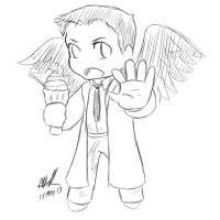 Chibi Castiel by sharem