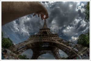 Paris: This is my picture... by Graphylight