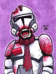 Death Trooper Sketch Card by Todd-the-fox