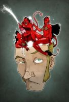 Demons in my head by paulorocker