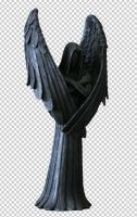 Angel statue 1 psd file by clair0bscur-stock