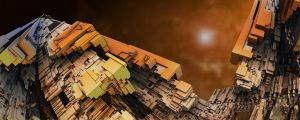 Complexcity of the sun by MANDELWERK