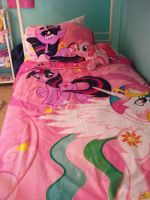 AWESOME MY LITTLE PONY BED by Spitfire-Comics