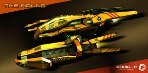 Radial-G approved racer: The Hound by REPLHKA