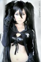 black rock shooter by ailkeene